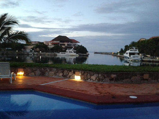 The Best View in Puerto Aventuras, Mexico